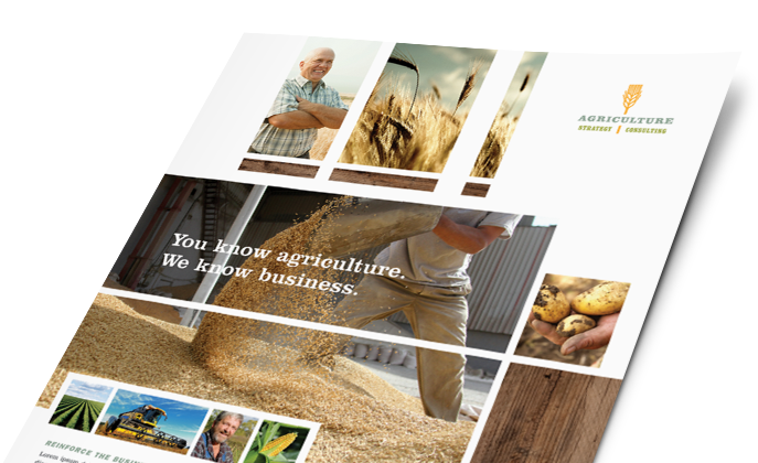 Agriculture & Farming Marketing - Brochures, Flyers, Newsletters - Graphic Designs