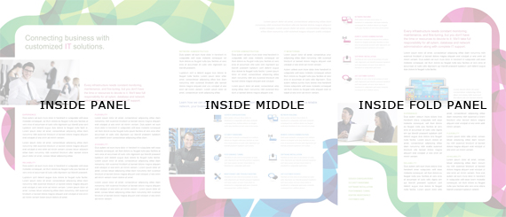 Tri Fold Brochure Inside Layout