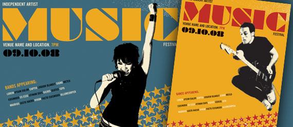 Music Festivals & Concerts – Designing Promotional Posters ...