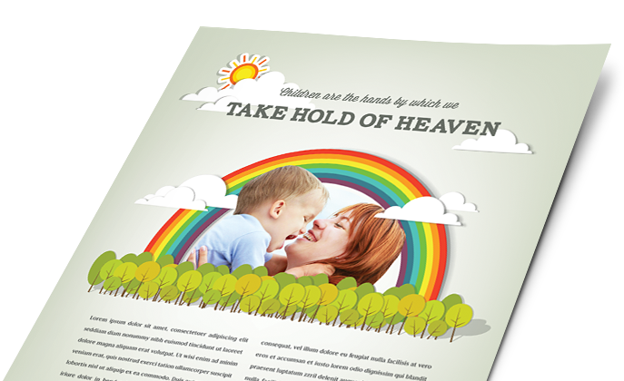 Child Care Marketing - Brochures, Flyers, Newsletters - Graphic Designs
