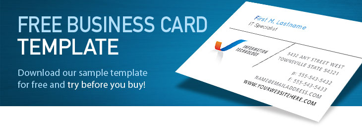 Free Business Card Templates Download Card Designs