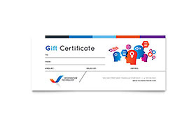 Free Gift Certificate Template Design