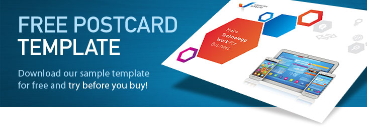 Free Postcard Template Download