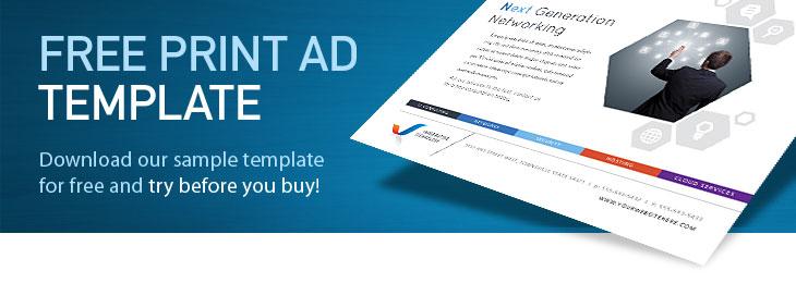 print ad templates free