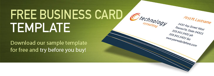free complimentary cards templates - free business card template sample card examples