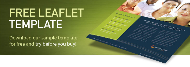 Free Leaflet Template Sample