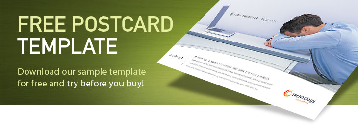 Free Postcard Template Sample