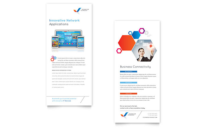 rack card template for word free rack card templates download rack card designs