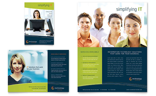 Free Sample Leaflet Template
