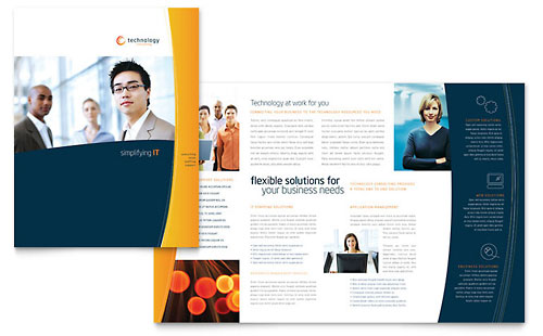 Free Brochure Templates – Illustrator Brochure Template