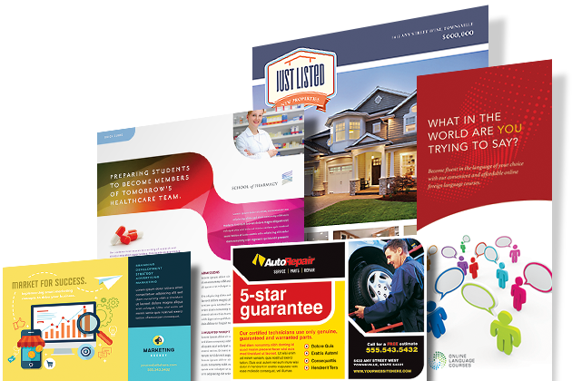 Graphic Design Templates - Graphic Design Layouts - Brochures, Flyers, Newsletters