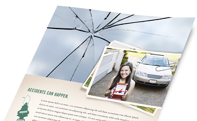 Insurance Marketing - Brochures, Flyers, Newsletters - Graphic Designs