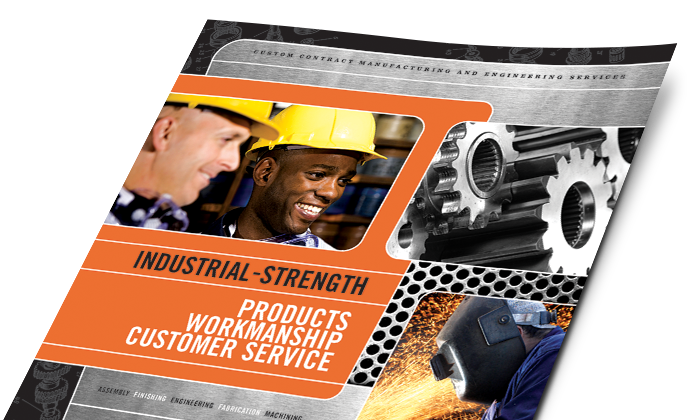 Manufacturing Marketing - Brochures, Flyers, Newsletters - Graphic Designs