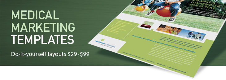 Medical & Health Care Brochures, Flyers, Newsletters, Medical & Health Care Templates