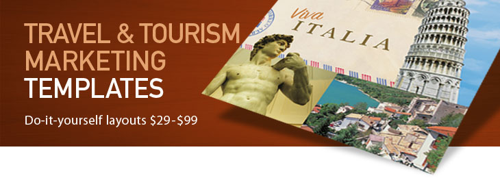 Travel & Tourism Brochures, Flyers, Newsletters, Travel & Tourism Templates