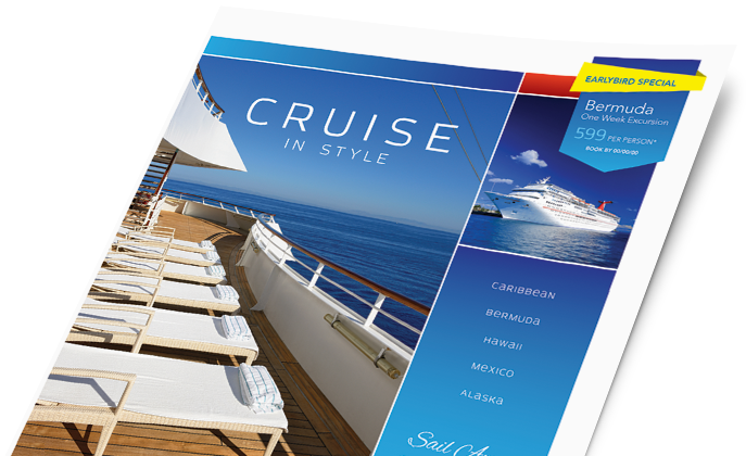 Travel & Tourism Marketing - Brochures, Flyers, Newsletters - Graphic Designs