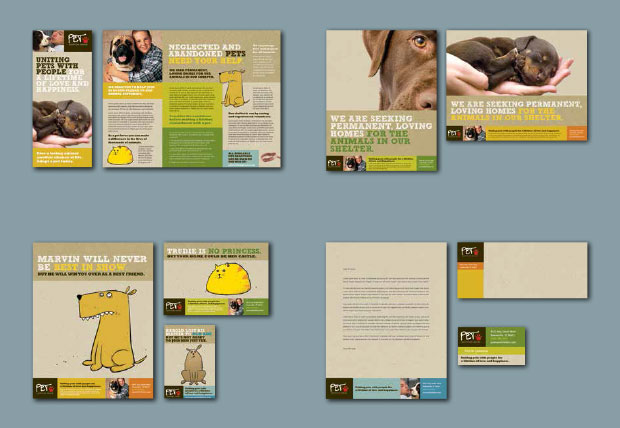 Brand Identity Example - Pet Shelter