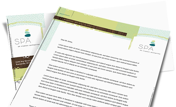 Stationery Designs - Examples - Templates