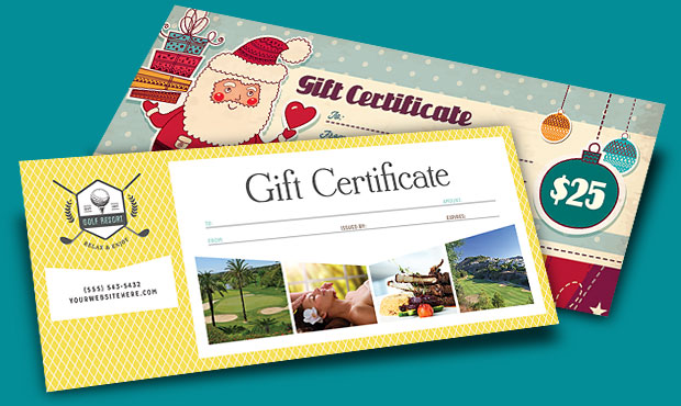 Gift Certificate Templates - Design Ideas