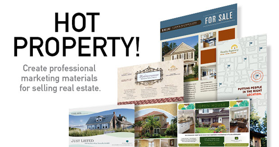 Real Estate Flyer & Postcard Template Designs