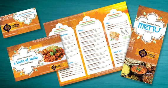 Business Marketing Templates – Indian Restaurant