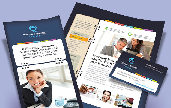 Marketing Materials for Professional Secretarial Services