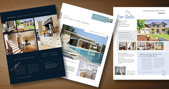 real estate flyers Layouts Blog – House for Sale Flyer Template