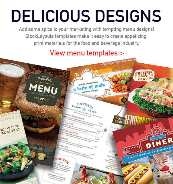 Sumptuous Sandwich Menu Designs
