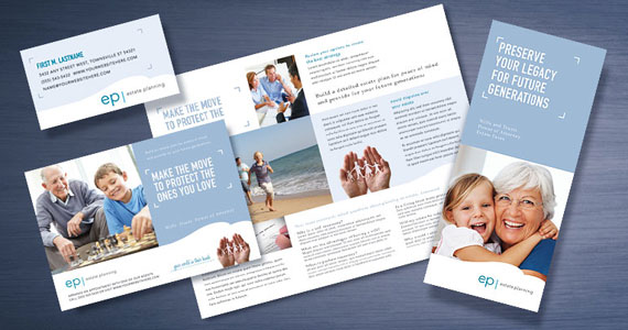 Estate Planning Brochures, Flyers, Datasheets