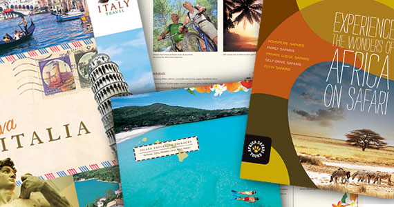 Travel & Tourism Brochure Template Designs