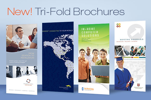 Tri Fold Brochure Design Templates