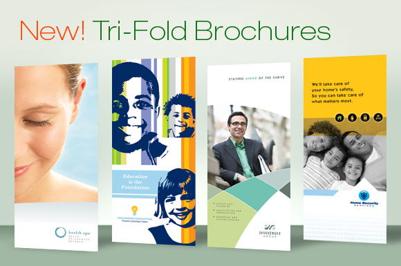 DTG Magazine Presents Tri Fold Brochure Templates - Marketing brochures templates