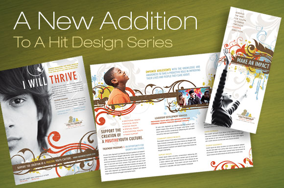 dtg magazine tri fold brochure templates for youth groups