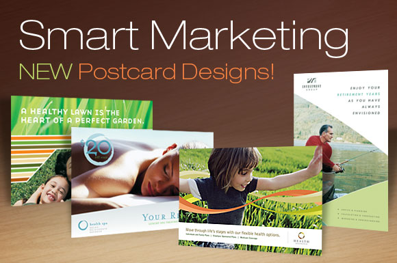 Smart Marketing: New Postcard Designs