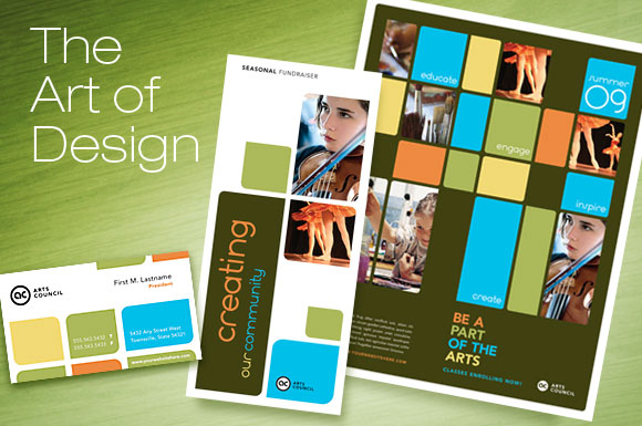 Arts Council & Education: Brochure, Posters, Cards