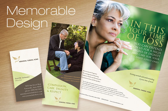 Memorial & Funeral Services Marketing Templates