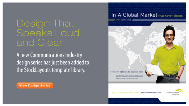 Global Communications Design Template by StockLayouts
