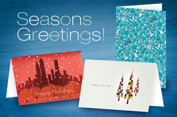 Holiday Greeting Card Graphic Design Templates
