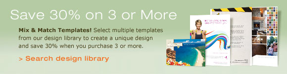 Save 30% on 3 or More Templates