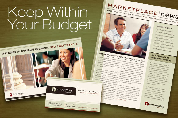 Design Update: New Financial Planner Graphic Design