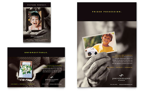 Photography Studio - Flyer & Ad Template Design