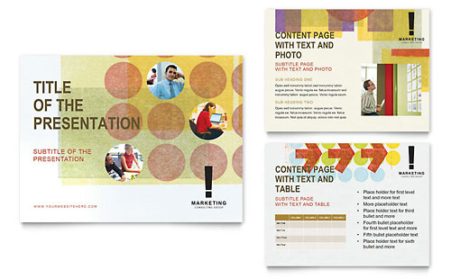 Marketing Consultant PowerPoint Presentation Template Design