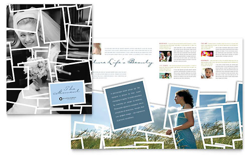 Photographer Brochure Design Template