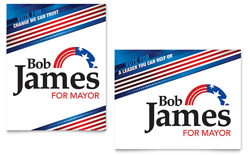 Political Campaign - Poster Template
