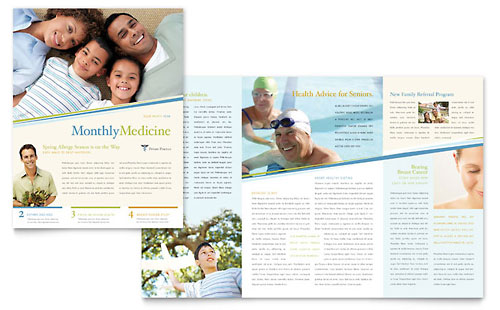 Family Physician - Newsletter Design Template