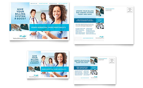 Postcard Templates Business Designs Direct Mail