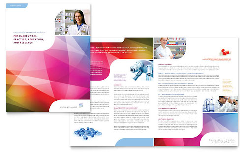 Pharmacy School - Brochure Template Design