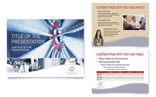Marketing Consulting Group - PowerPoint Presentation Template
