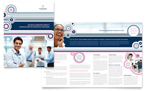 Marketing Agency - Brochure Template Design