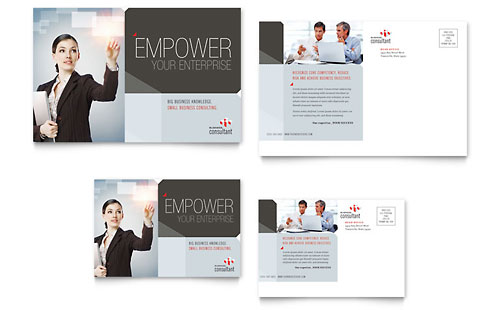 Corporate Business - Postcard Template Design